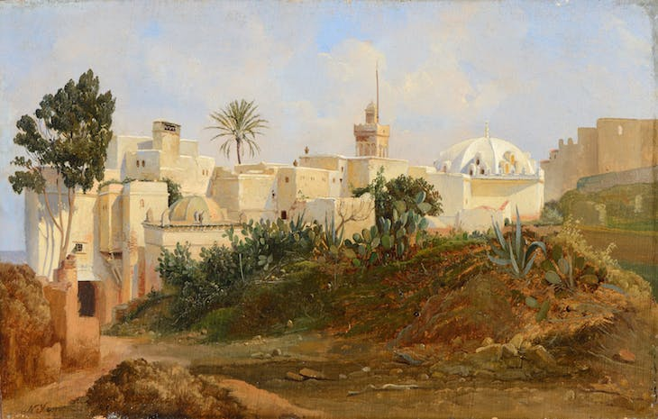 View of Algiers Niels Simonsen