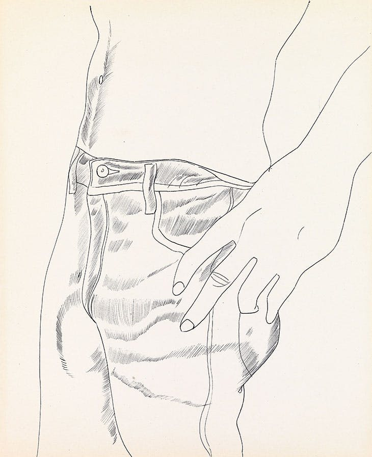 Untitled (Hand in Pocket)
