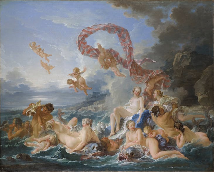 The Triumph of Venus, Boucher