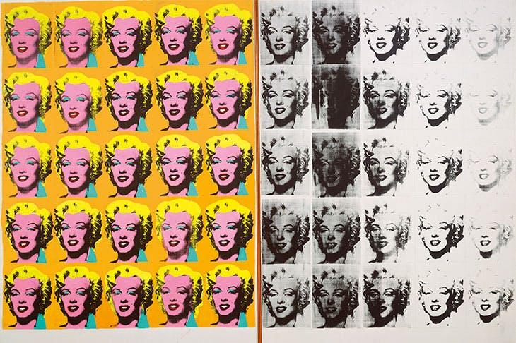 Marilyn Diptych (1962), Andy Warhol. Tate, London.
