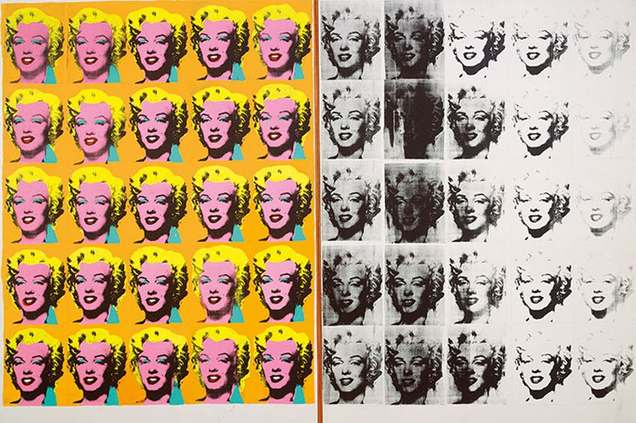 Marilyn Diptych (1962), Andy Warhol. Tate, London.