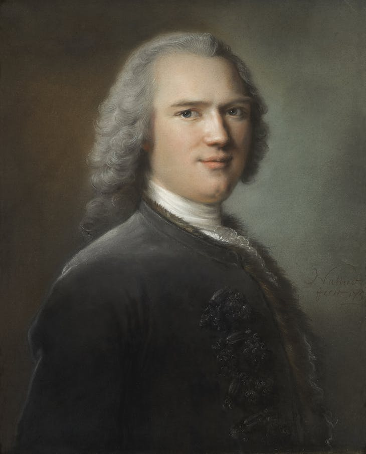 Portrait, probably of the Marquis of Maurigny, Jean Marc Nattier