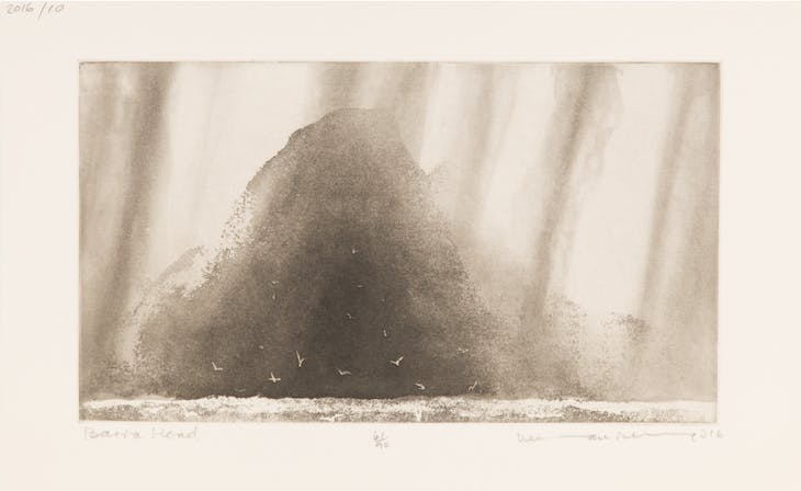 Barra Head (2016), Norman Ackroyd.