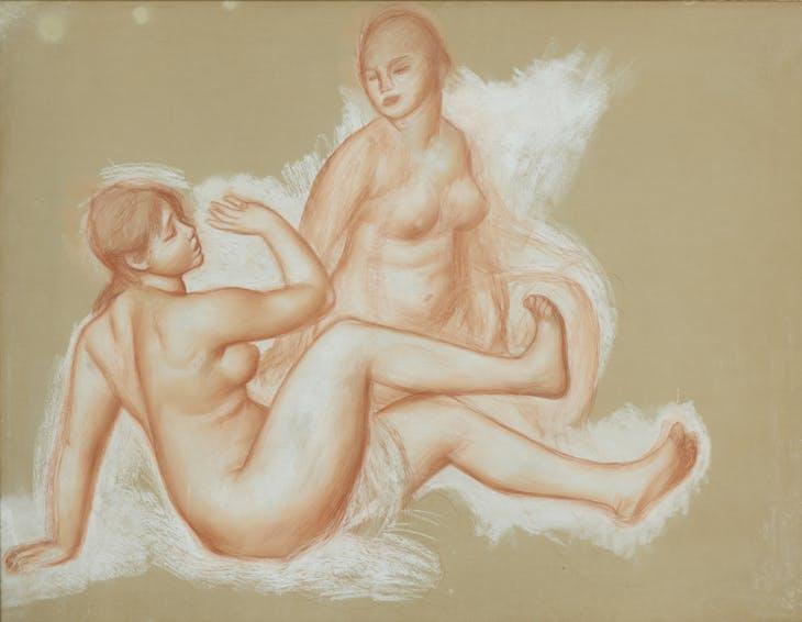 Bathers, Renoir