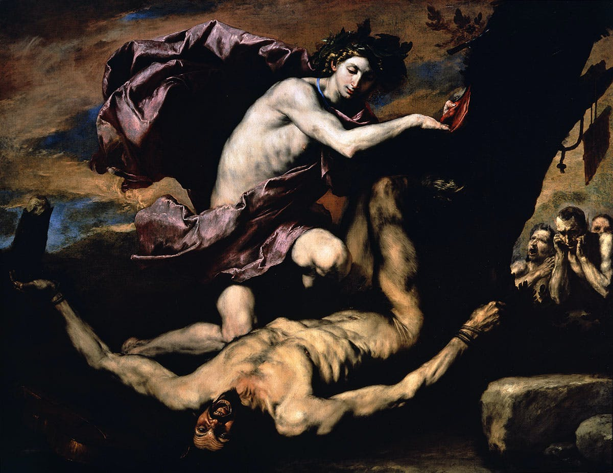 Apollo and Marsyas (1637), Jusepe de Ribera.