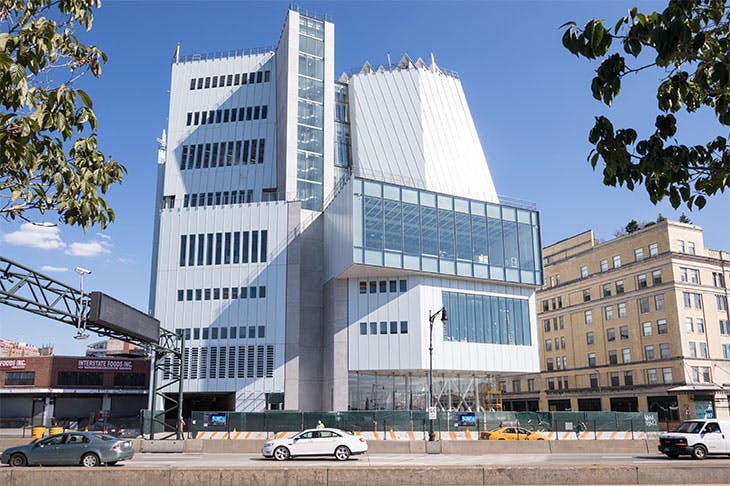 The Whitney Museum of American Art in 2014. Photo: Timothy Schenck