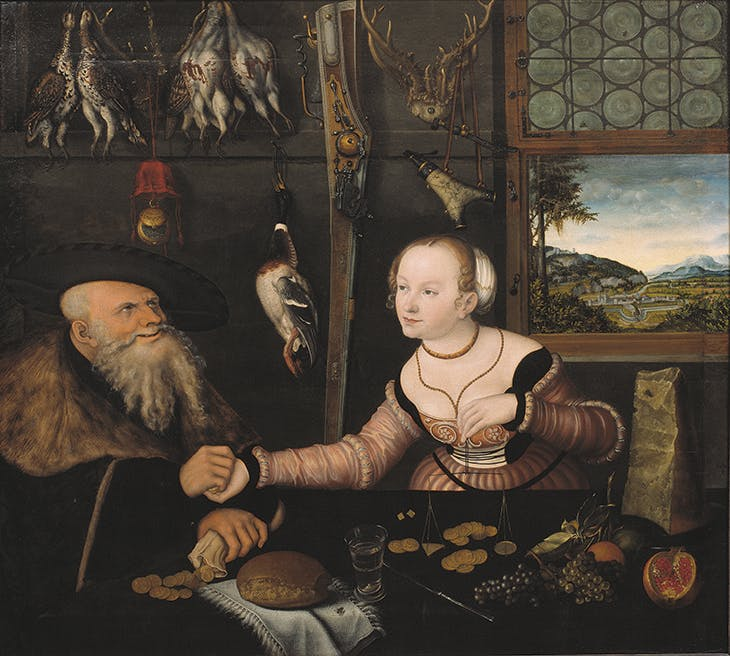 The Ill-matched Couple, Lucas Cranach the Elder