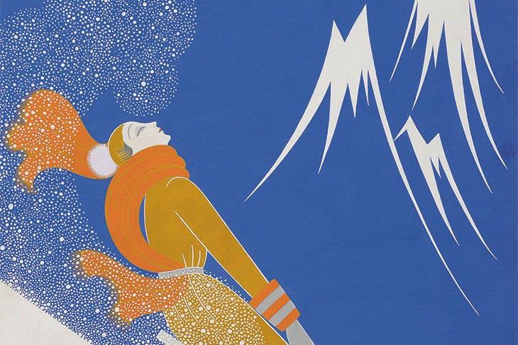 Sports d'Hiver (1933), Erté. Stephen Ongpin Fine Art (£18,000)