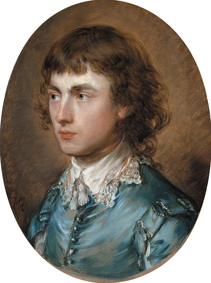 Gainsborough Dupont, the Artist's Nephew (1773), Thomas Gainsborough. Waddesdon Manor, Buckinghamshire