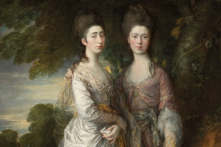 Mary and Margaret Gainsborough, the Artist's Daughters (c. 1774), Thomas Gainsborough
