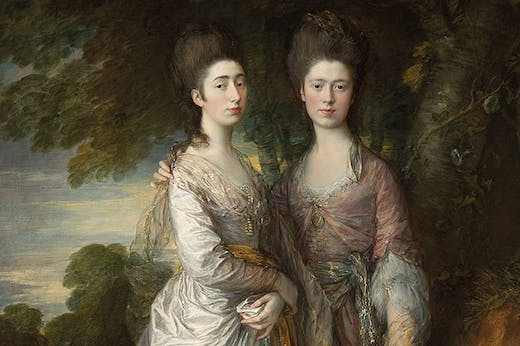 Mary and Margaret Gainsborough, the Artist's Daughters (c. 1774), Thomas Gainsborough