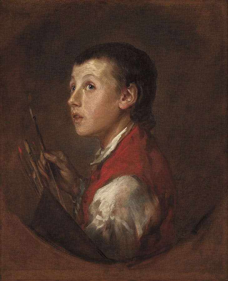 'The Pitminster Boy' (late 1760s), Thomas Gainsborough
