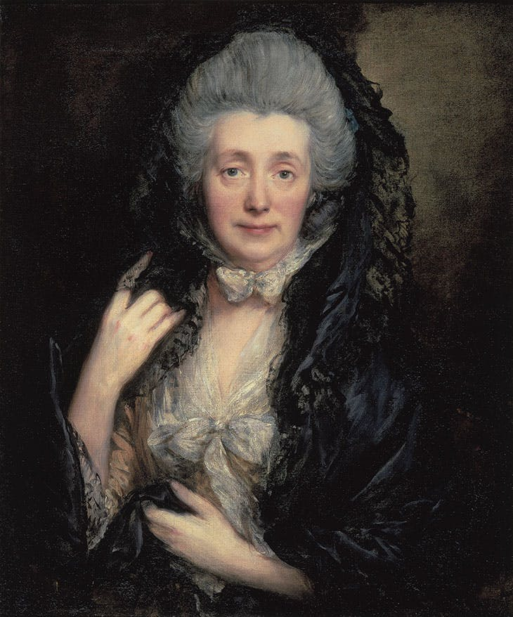 Margaret Gainsborough, the Artist's Wife (c. 1777), Thomas Gainsborough. Courtauld Gallery, London