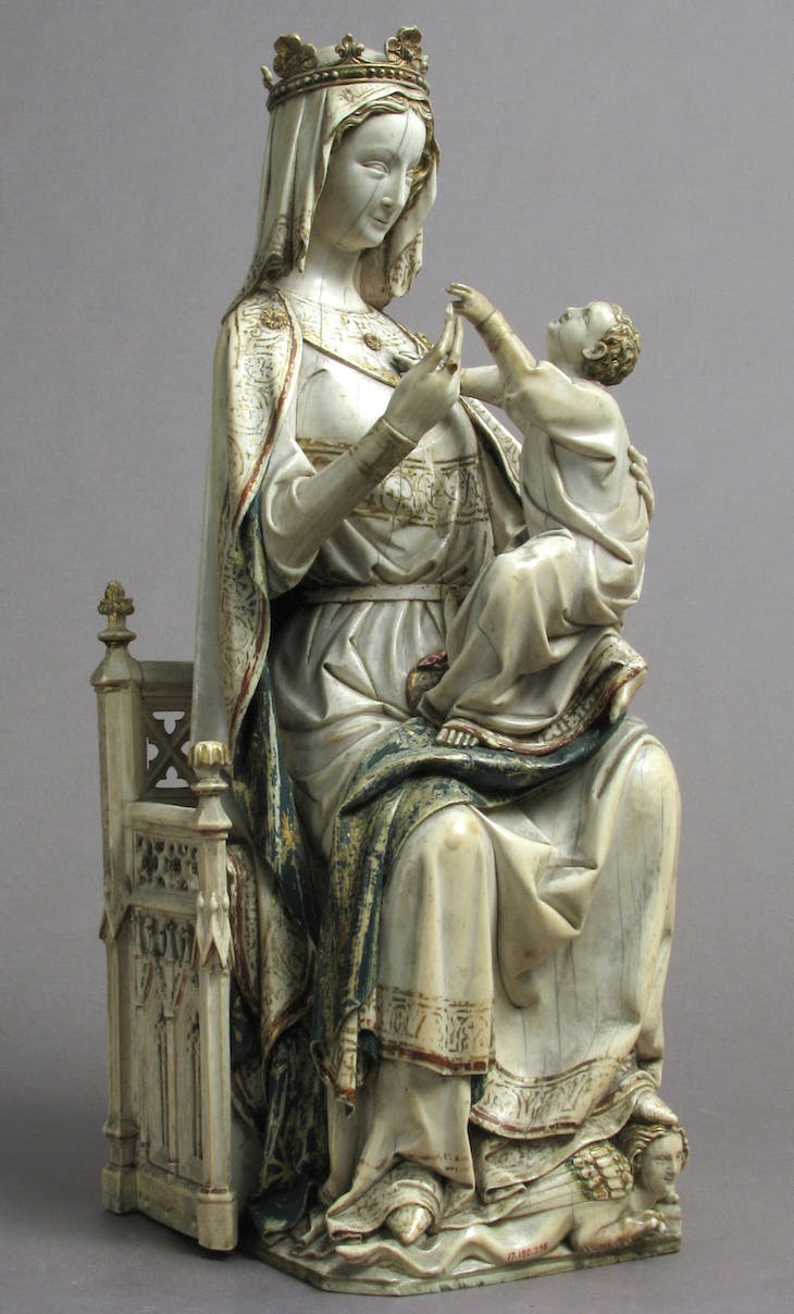 Virgin and Child, France