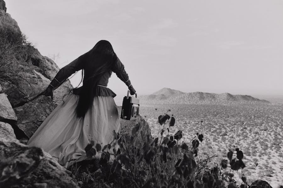 Angel Woman, Sonora Desert