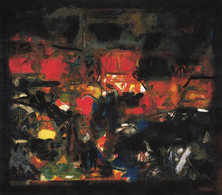 Tapovan (1972), S.H. Raza. Christie's New York, $4.5m.