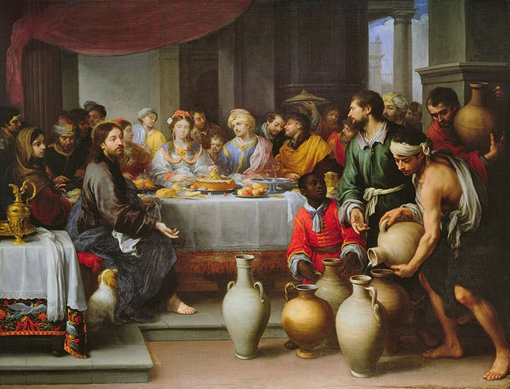 The Marriage Feast at Cana (c. 1672), Bartolomé Esteban Murillo. The Barber Institute of Fine Arts