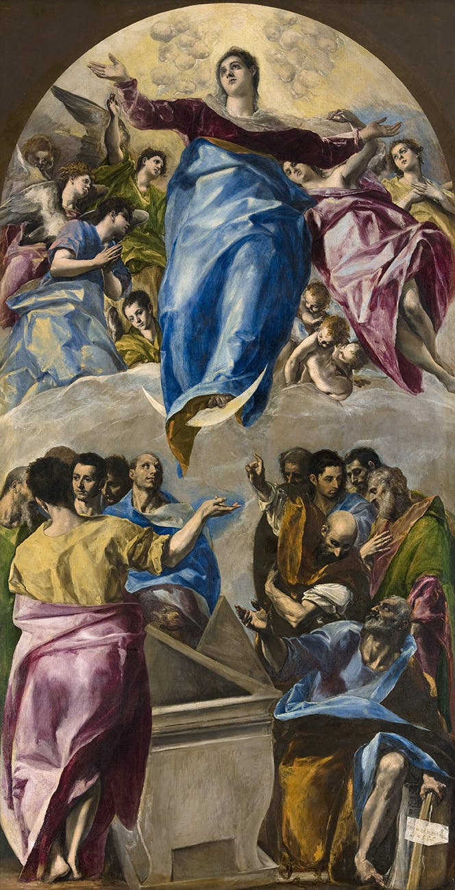 The Assumption of the Virgin, El Greco