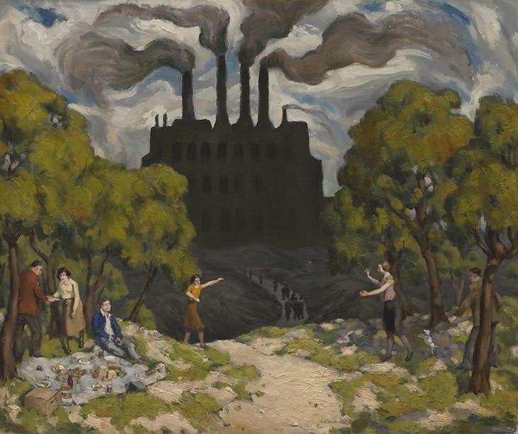 Dark Satanic Mills, Cyril Mann
