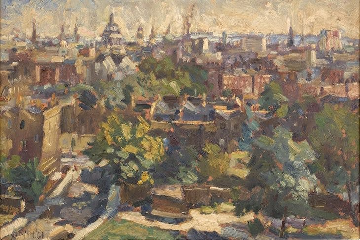 St Paul's from Bevan Court, Cyril Mann