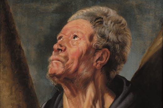 Saint Andrew (Portrait of Abraham Grapheus), Jordaens