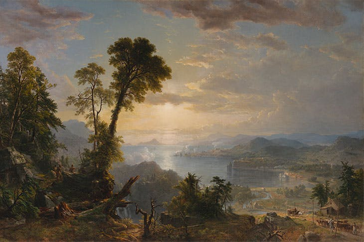 Progress (The Advance of Civilization) (1853), Asher B. Durand. Virginia Museum of Fine Arts