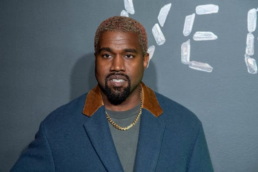 Kanye West photographed in December 2018.