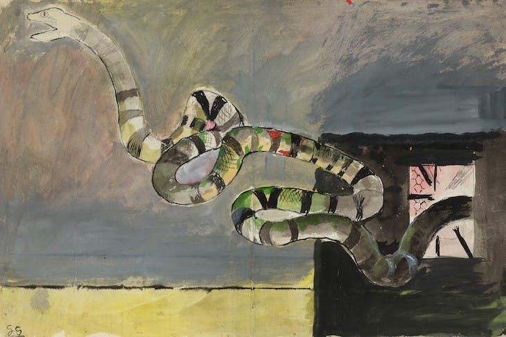 Le serpent, Graham Sutherland