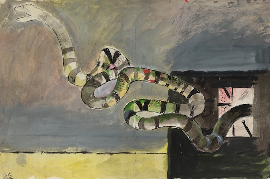 Le serpent, Graham Sutherland