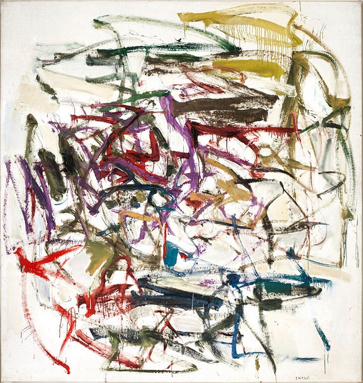 Untitled (1957), Joan Mitchell.