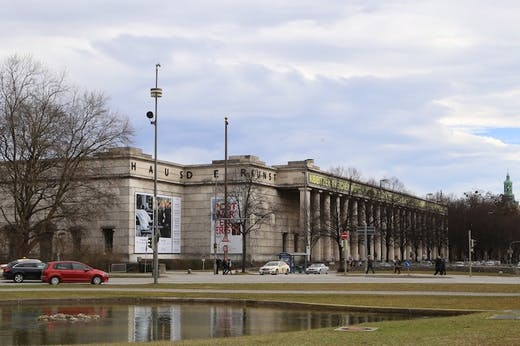 Haus der Kunst, Munich.