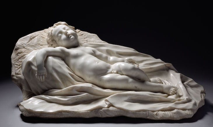 Sleeping Christ Child, Filippo Parodi