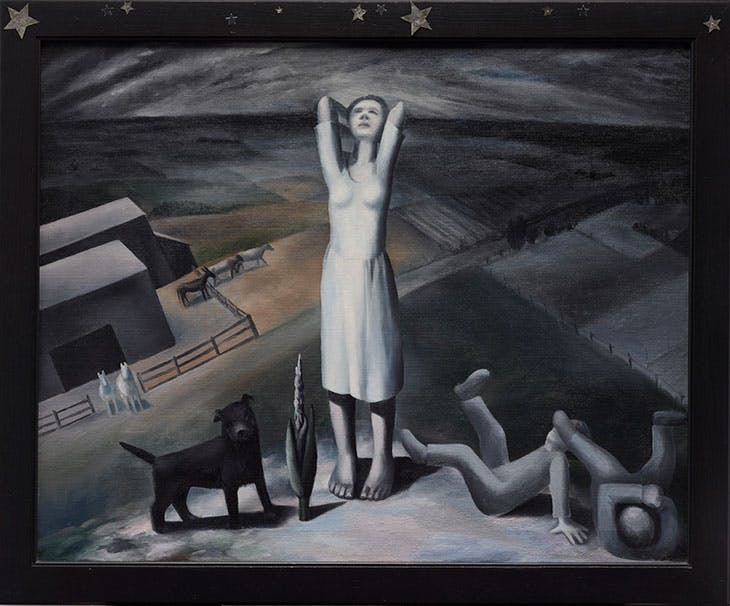 Star Gazing in Texas (1938), Ida Ten Eyck O'Keeffe. Dallas Museum of Art