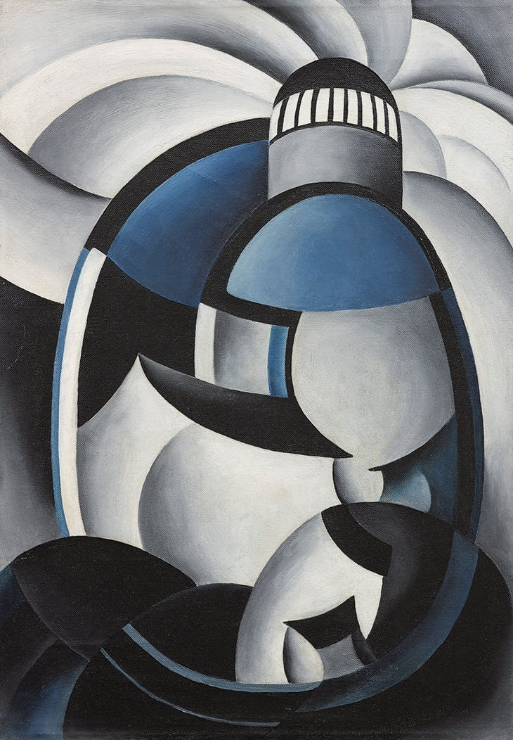 Variation on a Lighthouse Theme II (c. 1931–32), Ida Ten Eyck O'Keeffe