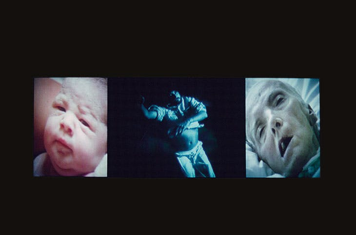 Nantes Triptych (1992), Bill Viola.