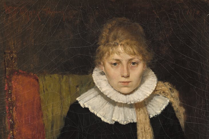 Portrait of a Woman (1888), William Merritt Chase. Wadsworth Atheneum Museum of Art, Hartford Connecticut