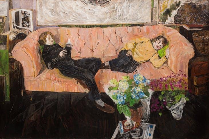 Sofas Galore (c. 1980s), Jean Cooke. © The artist's estate, courtesy Piano Nobile