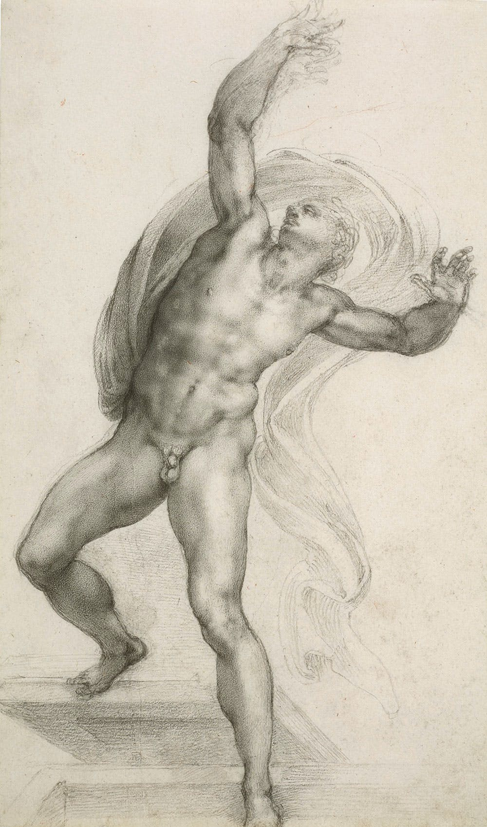 The Risen Christ (c. 1532–33), Michelangelo Buonarroti.