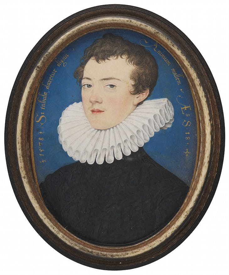Francis Bacon, later Baron Verulam and Viscount St Alban, Hilliard