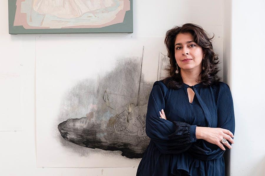 Naiza Khan. Image courtesy Rossi & Rossi, London
