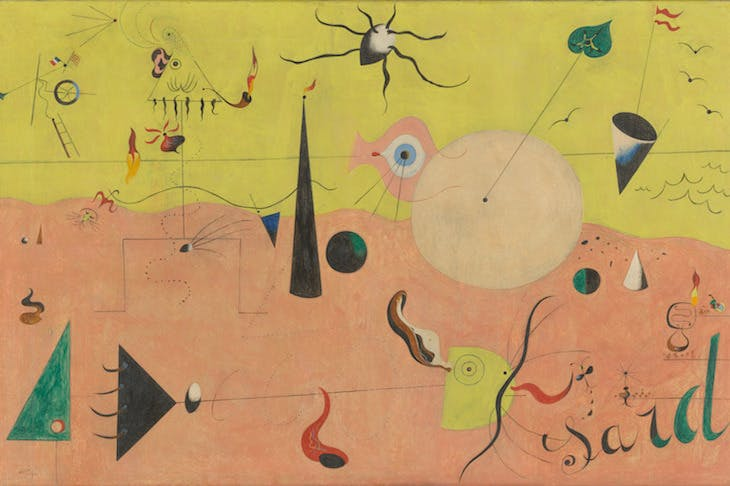 The Hunter (Catalan Landscape), Miro