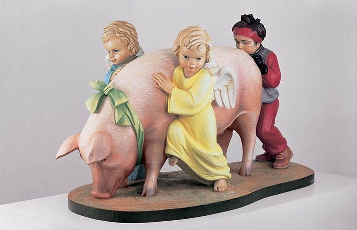 Ushering in Banality (1988), Jeff Koons.