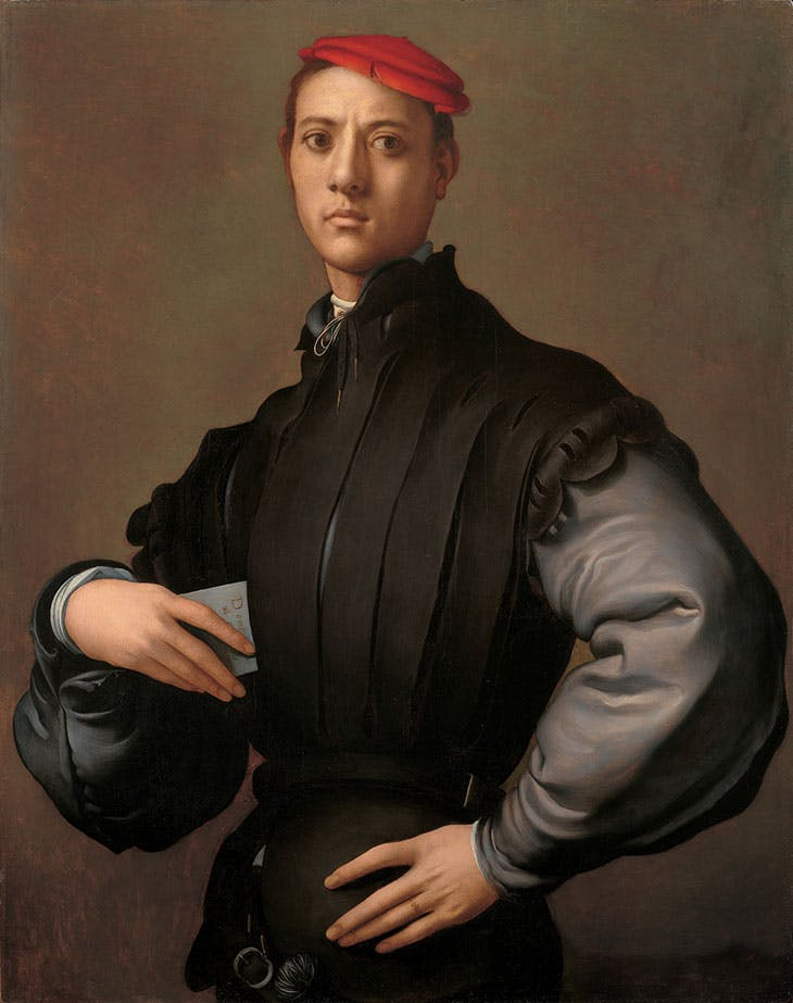 Portrait of a Man (Carlo Neroni) (1529–30), Jacopo Carucci, known as Pontormo.