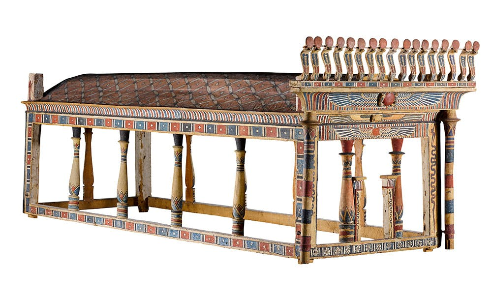 Canopy from tomb of Montseuf (c. 9 BC), Thebes. National Museums Scotland