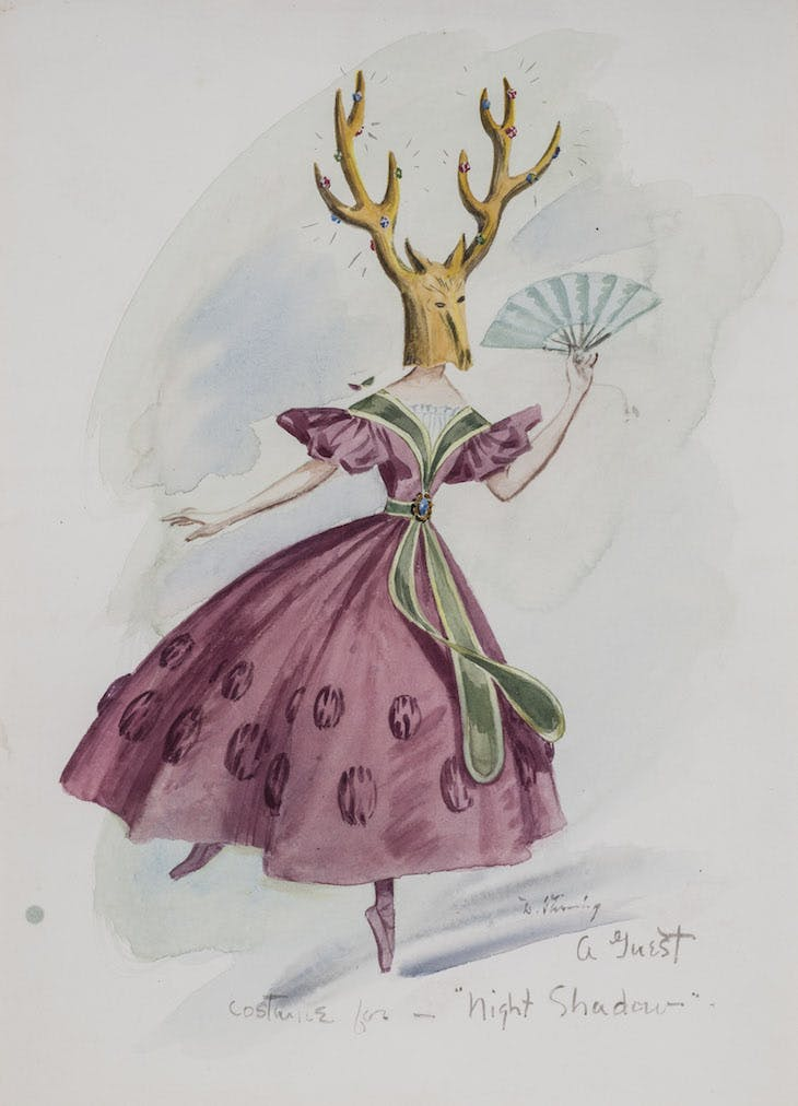 Costume Design for Night Shadow, Tanning