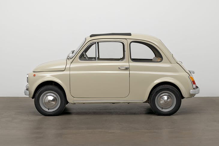500f city car (design: 1957; this example: 1968), Dante Giacosa