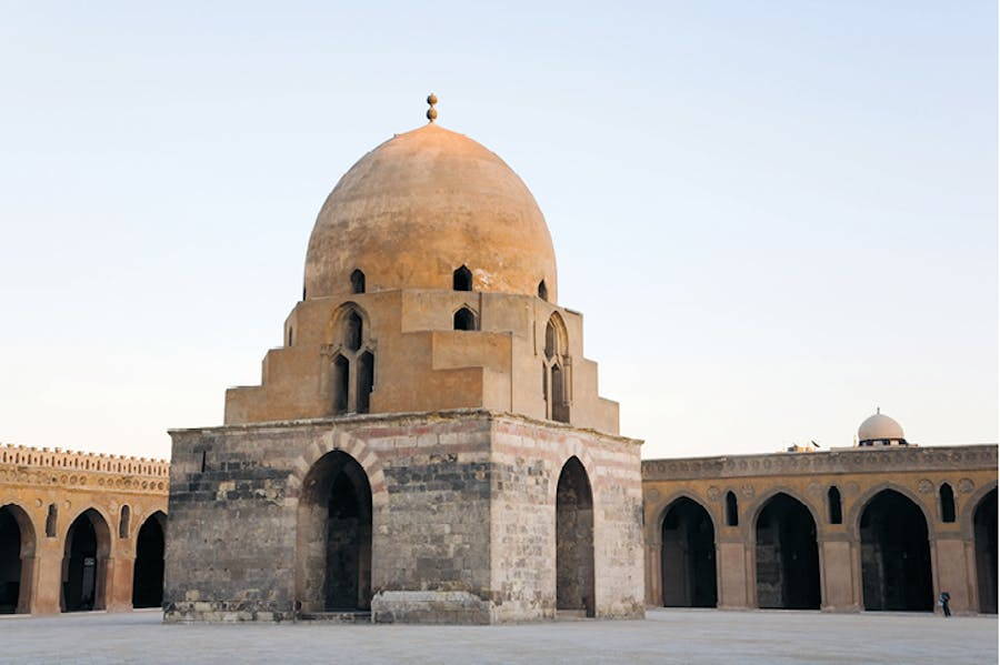The mosque of Ahmad ibn Tulun, Cairo, built in the 9th century.