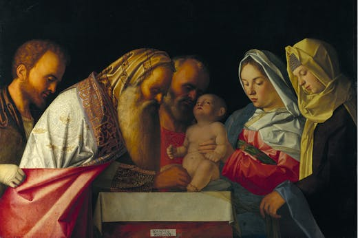 The Circumcision (c. 1500), Giovanni Bellini. National Gallery, London