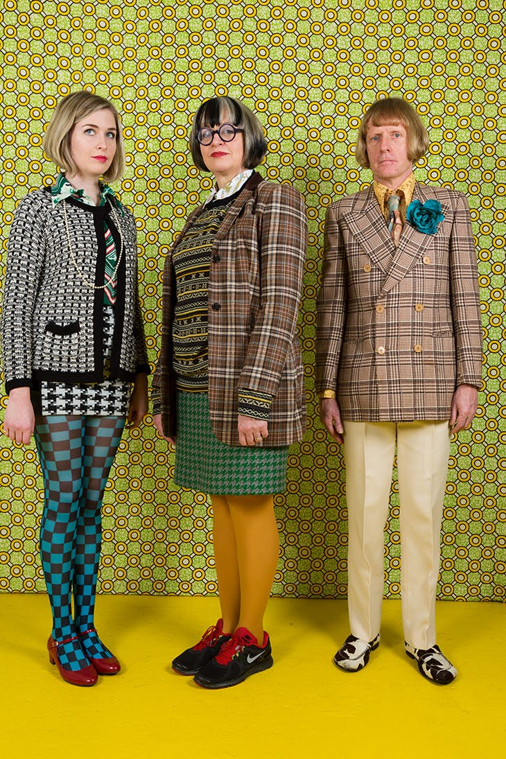 The Perry Family – daughter Florence, Philippa and Grayson, London, England, 2012 (2012), Martin Parr.