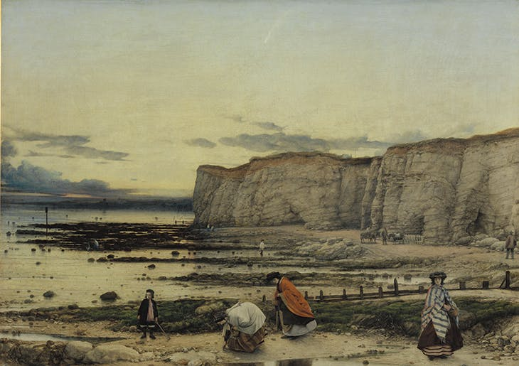 Pegwell Bay, Kent - a Recollection of October 5th 1858 (c. 1858-60), William Dyce. Tate, London.